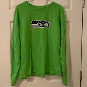 Seattle Seahawks Russel Wilson L/S T-shirt